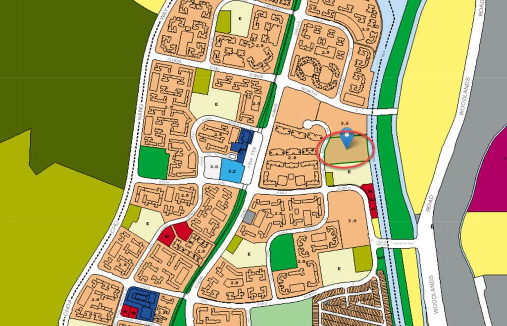 Windermere EC URA Master Plan Map